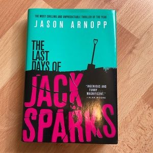 🛍 3/$20 The Last Days of Jack Sparks (book)